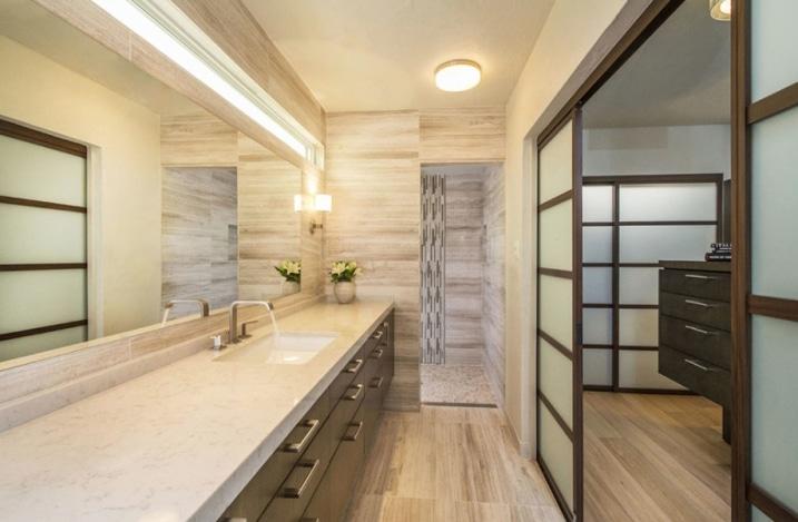 Créer un style japonais dans une salle de bain