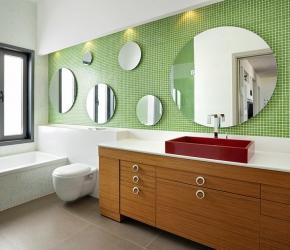 salle-bain-mosaique-verte