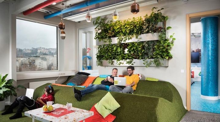 bureaux de google budapest. Black Bedroom Furniture Sets. Home Design Ideas