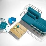 Canape exterieur design Jujube