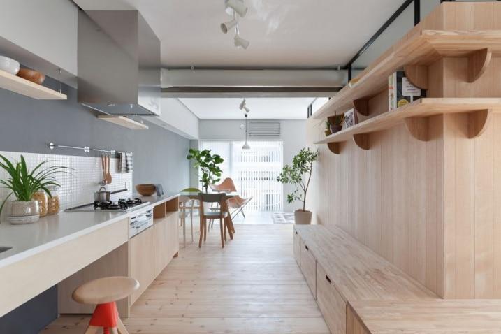 Id es de cuisines avec un style japonais minimaliste for Japonais cuisine ouverte
