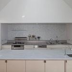 Cuisine plan travail marbre