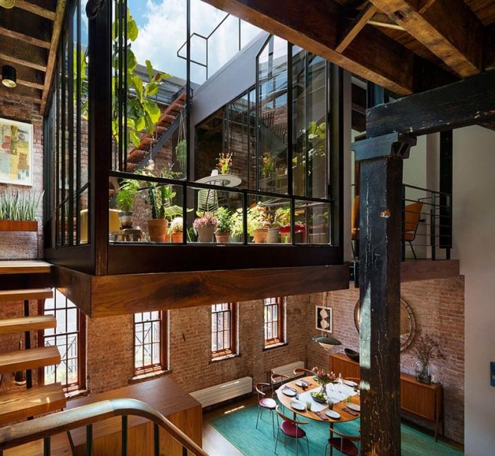 Jardin interieur Loft