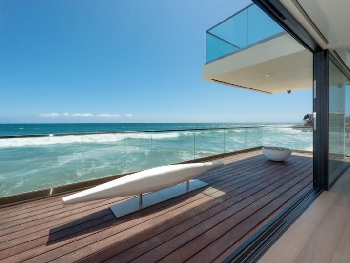 Maison double terrasse
