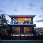 Maison contemporaine 3 etages avec rooftop