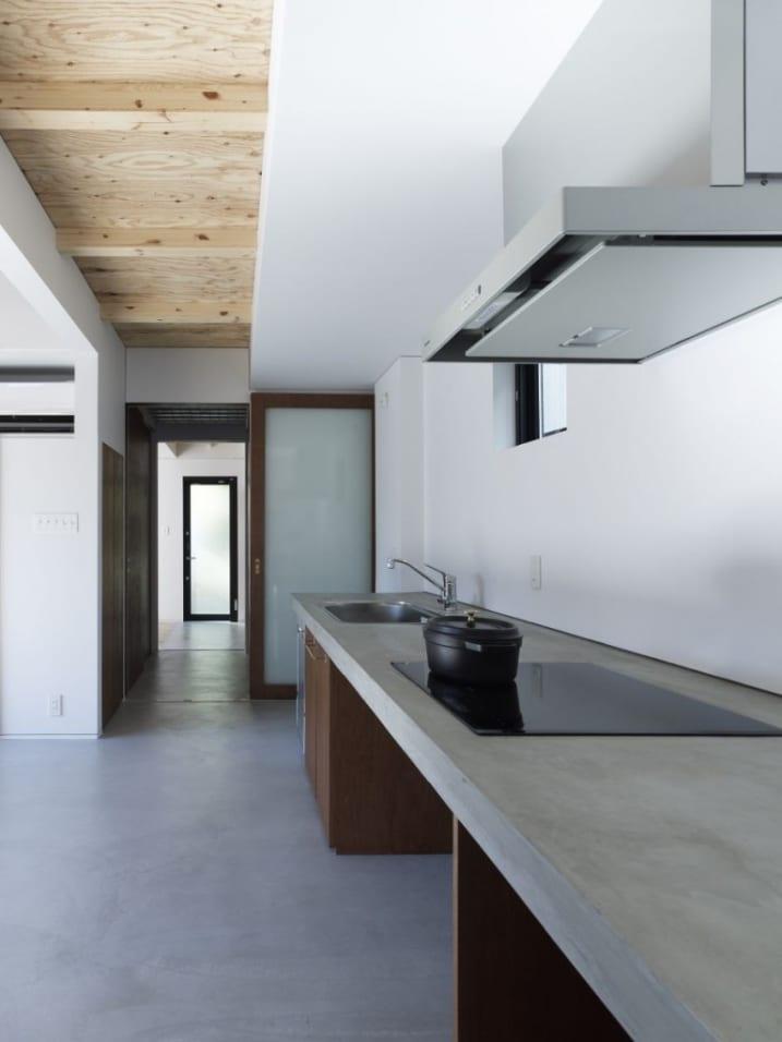 plan travail cuisine en beton. Black Bedroom Furniture Sets. Home Design Ideas