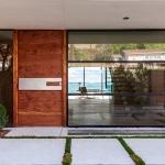 Porte entree avec baie vitree