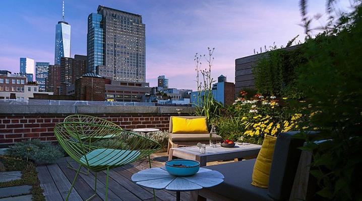 Rooftop Manhattan Tribecca