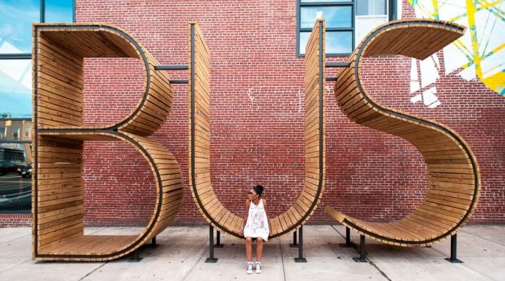 Sculpture Bus Baltimore