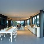 Table de salon design blanche