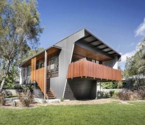 Les plus belles maisons contemporaines id es exemples for Assurer une maison en zone inondable