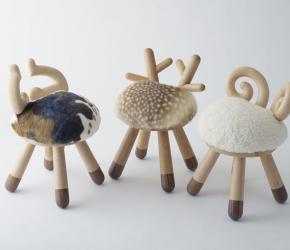 Chaises design en bois Takeshi Sawada