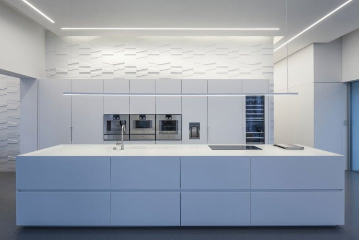 Cuisine pur e blanche for Cuisine design epuree