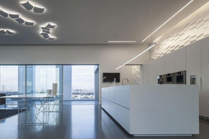 Eclairage indirect dans un appartement design for Appartement design 2015