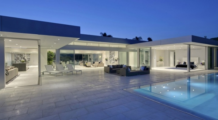Maison Contemporaine De Mcclean Design A Beverly Hills