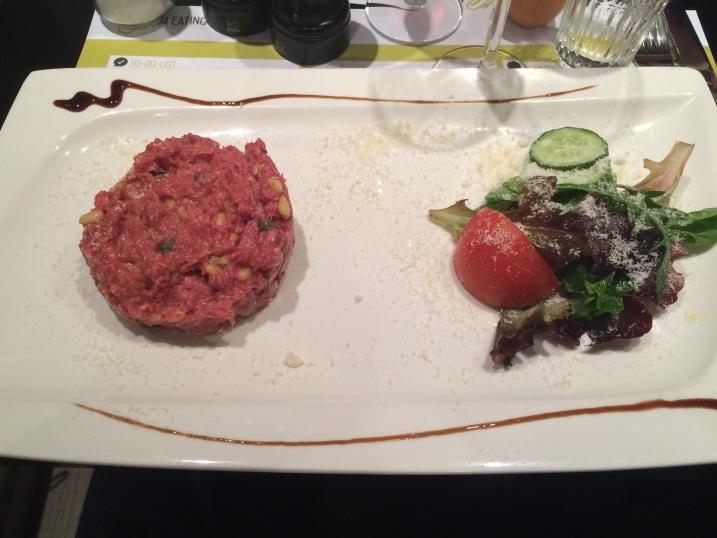 Steak Tartare MEATING ROOM