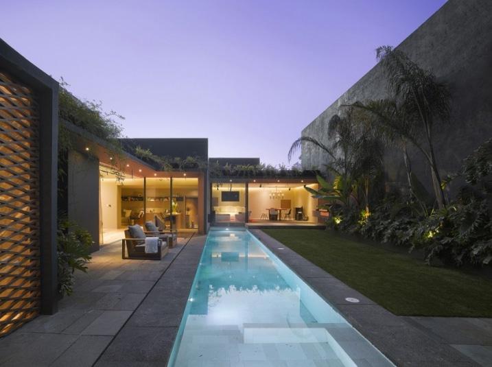 d coration int rieure ext rieure d 39 une maison avec plantes. Black Bedroom Furniture Sets. Home Design Ideas