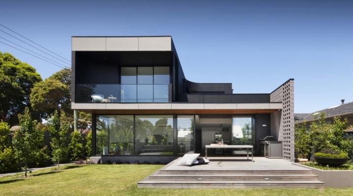 Maison minimaliste de bower architecture for Maison cubique minimaliste