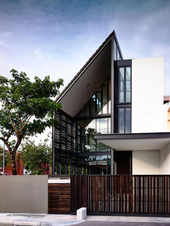Maison moderne sur 3 tages for Maison moderne 3 etages