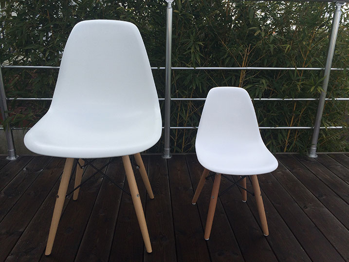Reproduction Chaises Charles Eames DSW