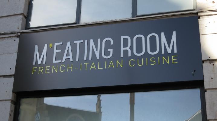 Devanture restaurant m'eating room