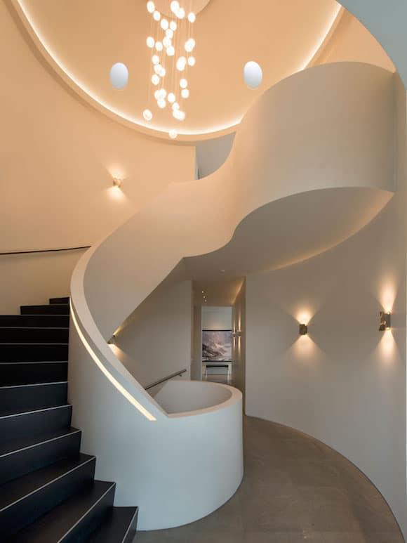 escalier design arrondi. Black Bedroom Furniture Sets. Home Design Ideas