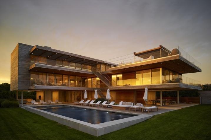 Maison contemporaine multi niveaux avec rooftop - Casas de lujo en nueva york ...