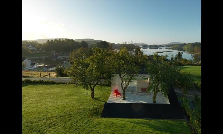 Maison de jardin de Saunders Architects
