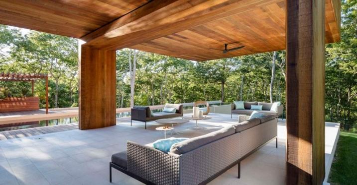 terrasse porche en bois. Black Bedroom Furniture Sets. Home Design Ideas