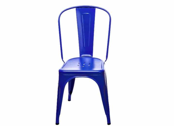Chaise Tolix Bleu Le Corbusier