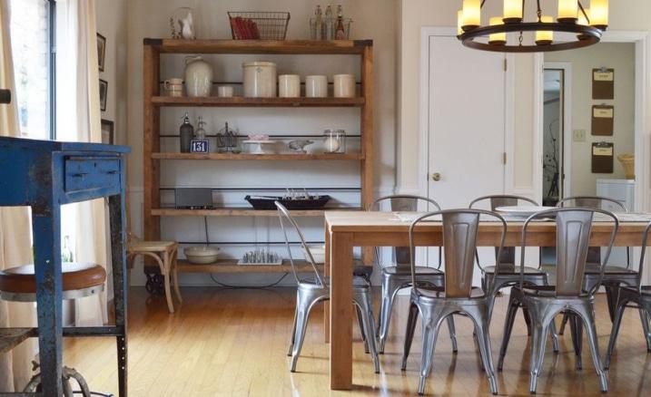Chaises tolix m tallique pour salle a manger for Salle a manger design 2015