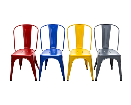 Chaises design LesCouleurs LeCorbusier