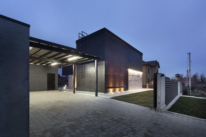 Maison moderne à deux étages