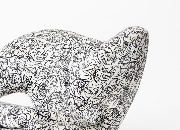 Imprimé à motif fauteuil Pelican