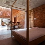 Intérieur contemporain maison vietnam