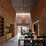 Intérieur maison en briques