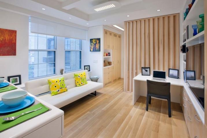 comment d corer et am nager un petit appartement. Black Bedroom Furniture Sets. Home Design Ideas