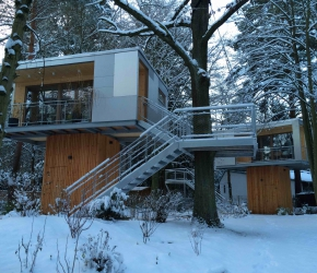 Cabanes design Urban Treehouse