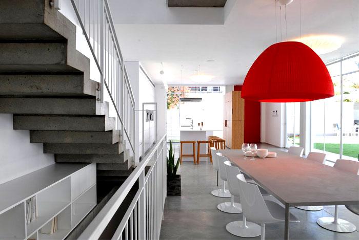 escalier en b ton brut. Black Bedroom Furniture Sets. Home Design Ideas
