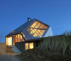 Maison dans les dunes
