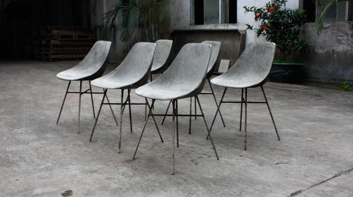 Chaises design Julie Legros Henri Lavallard Boget