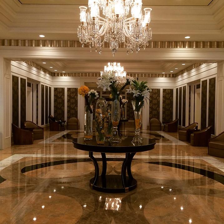 Décoration de l'hotel Trump Las Vegas