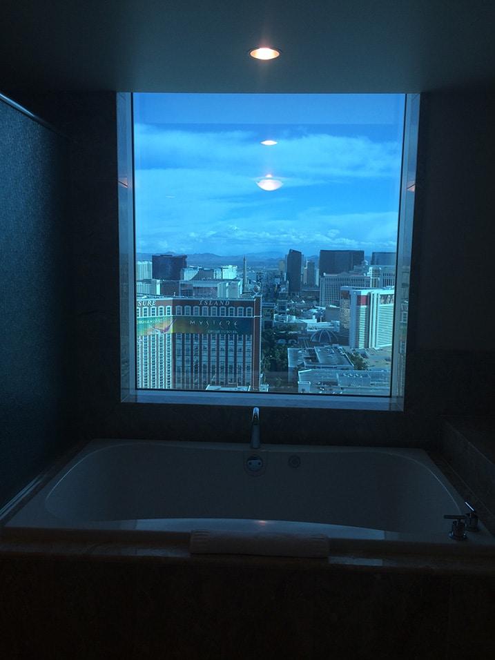 Jaccuzi Trump Hotel Las Vegas