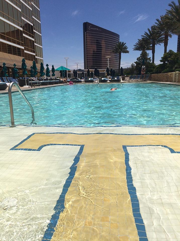 Piscine Trump Hotel Las Vegas