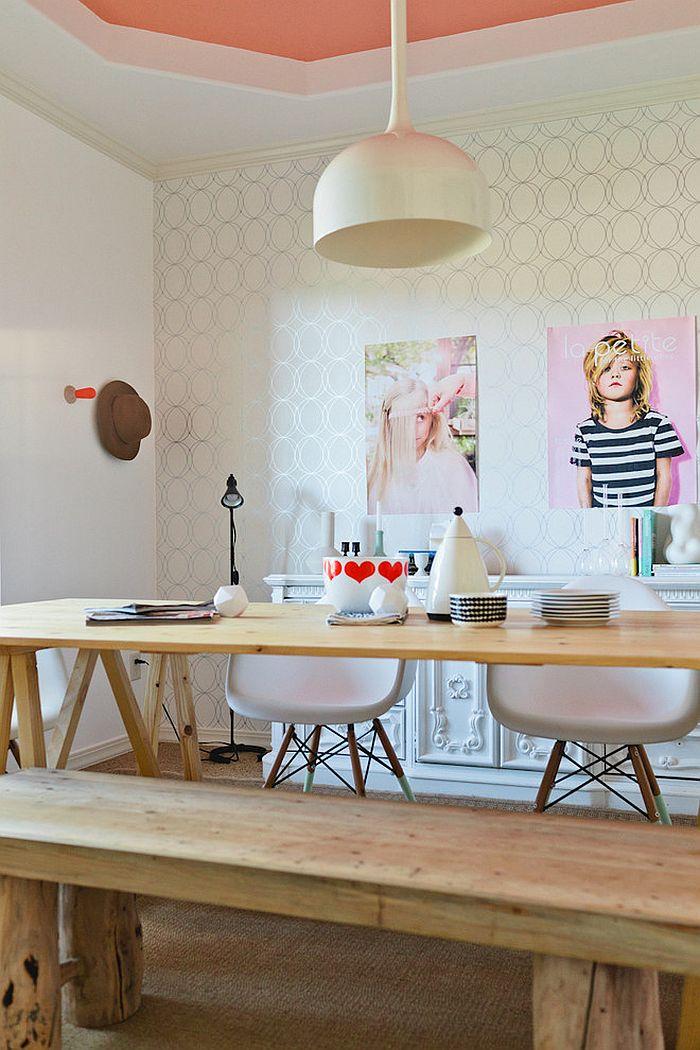 30 id es pour d corer un bureau avec un style scandinave. Black Bedroom Furniture Sets. Home Design Ideas
