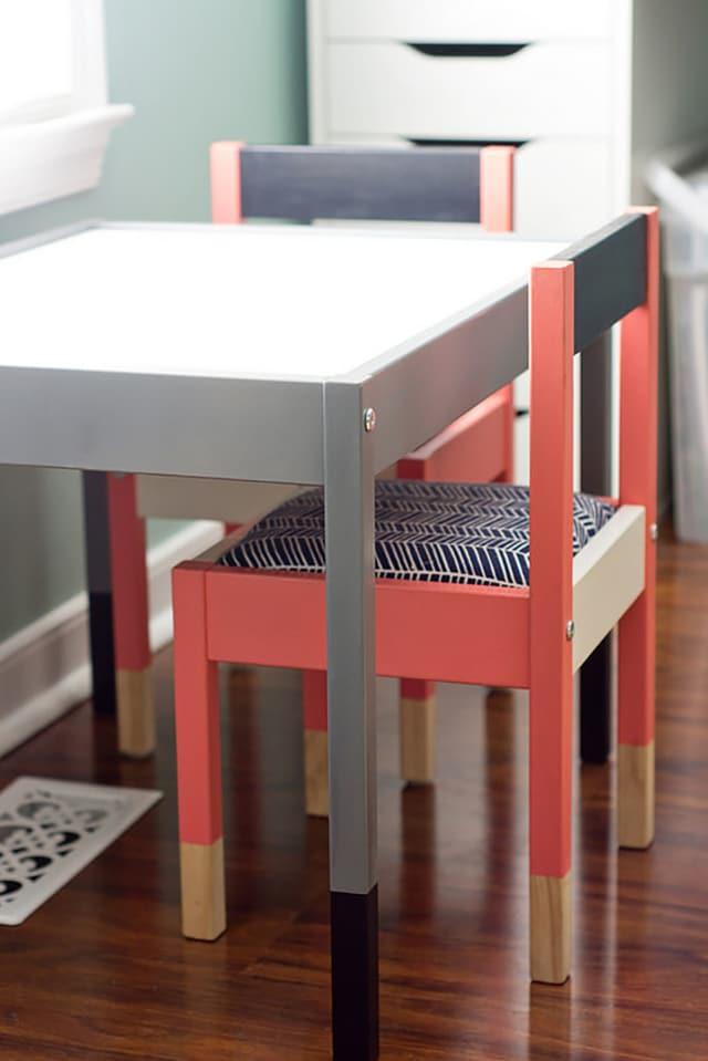 customiser des chaises latt ikea. Black Bedroom Furniture Sets. Home Design Ideas