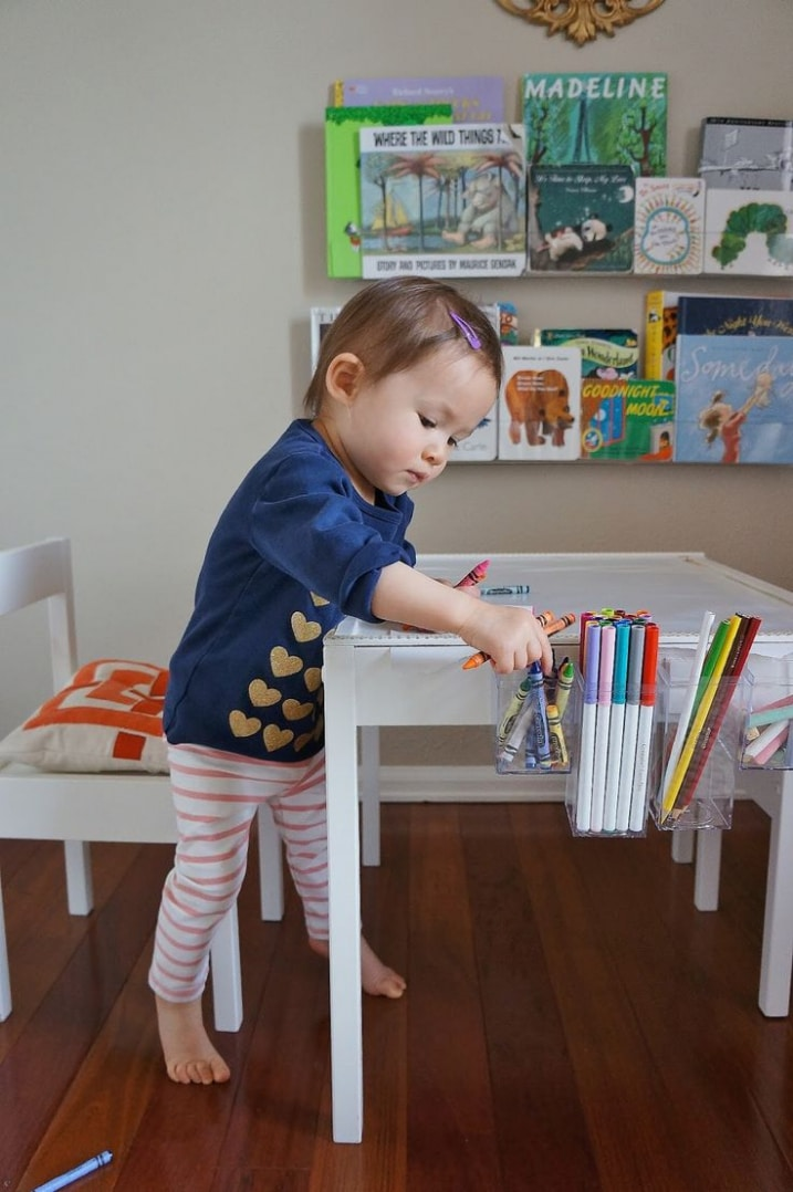 les meilleurs ikea hack pour enfants. Black Bedroom Furniture Sets. Home Design Ideas