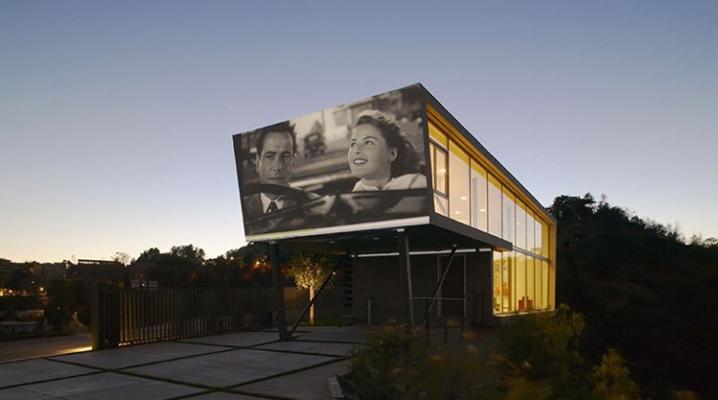 Maison Design Avec Cinema Priv 233 En Plein Air