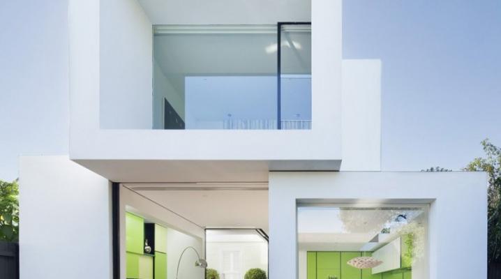 maison contemporaine ouverte sur l 39 ext rieur. Black Bedroom Furniture Sets. Home Design Ideas
