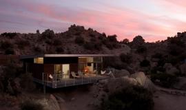 Maison dans desert